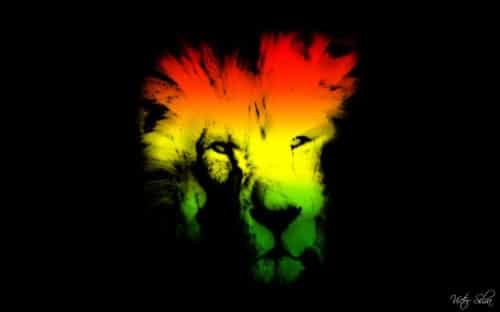 Lion Ghost- Mac OS X Lion Wallpaper