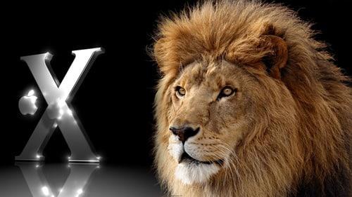 Mac Lion Silver Wallpaper