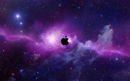 Mac OS X Lion Purple Wallpaper