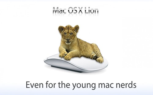 Mac OS X Lion Wallpapers - Lap of Luxury