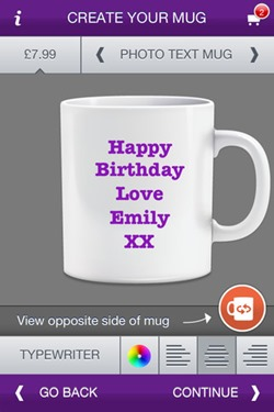 Photo Mug App for iPhone 2