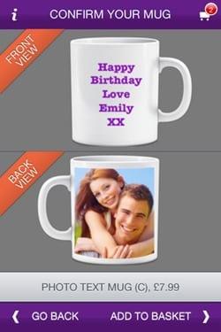 Photo Mug App for iPhone 4