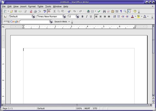 StarOffice for linux
