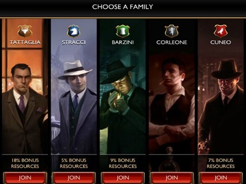 The Godfather- Five Families