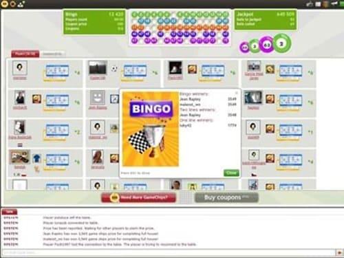 bingo-free online game
