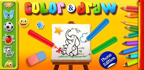 color and draw for android