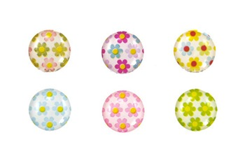 flower home button sticker