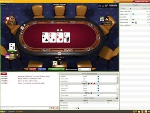 poker-texas-holdem-online game
