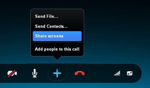 Desktop Sharing on Skype