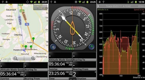 GPS Essentials App for Android