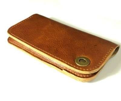 Leather Case Wallet HTC One