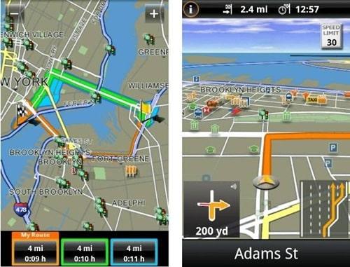 NAVIGON Mobile Navigator for Android