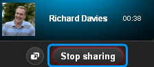 Stop Sharing on Skype