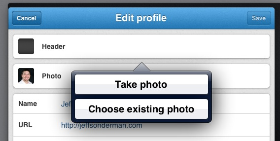 Upload & Share Photos to your Twitter