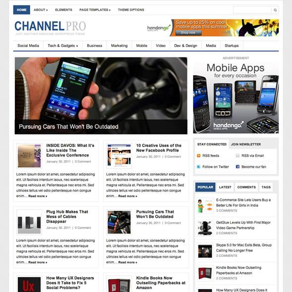 Channelpro for WordPress
