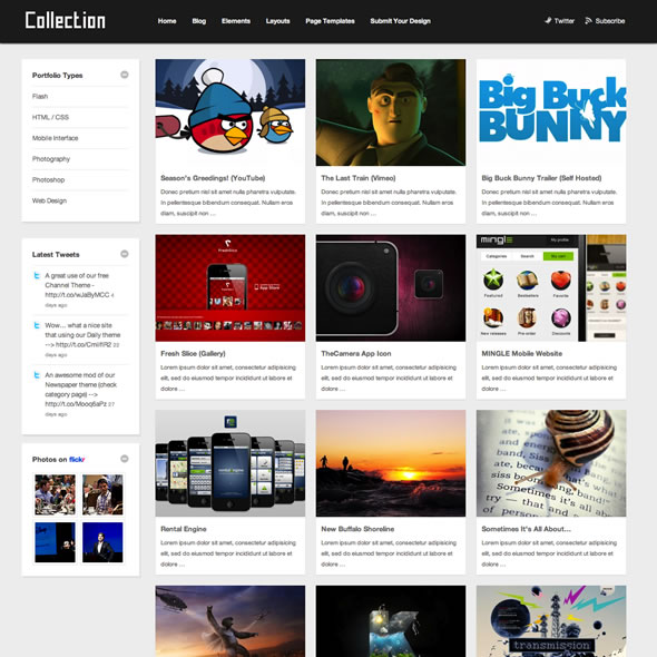 Collection for WordPress