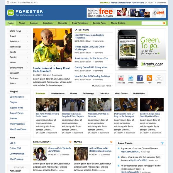 Forester for WordPress