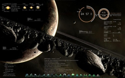 Meteor Glimps for Rainmeter