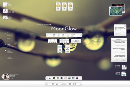 MoonGlow for Rainmeter