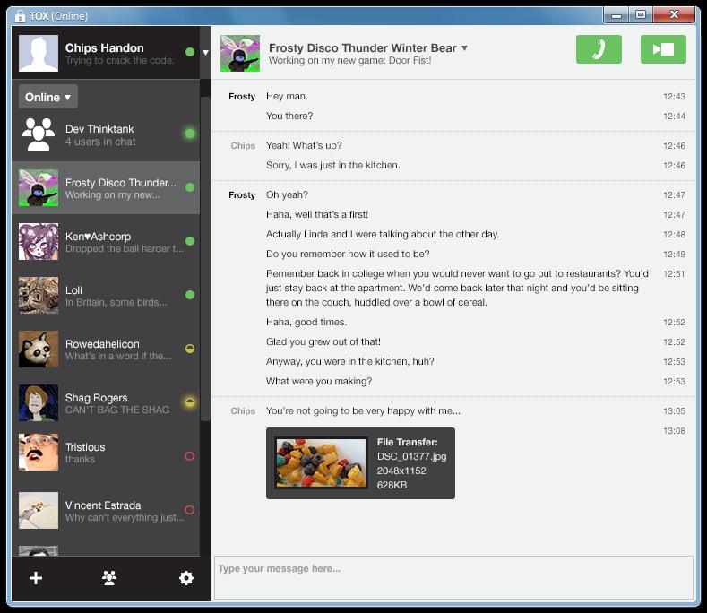 Tox- New Skype Alternative