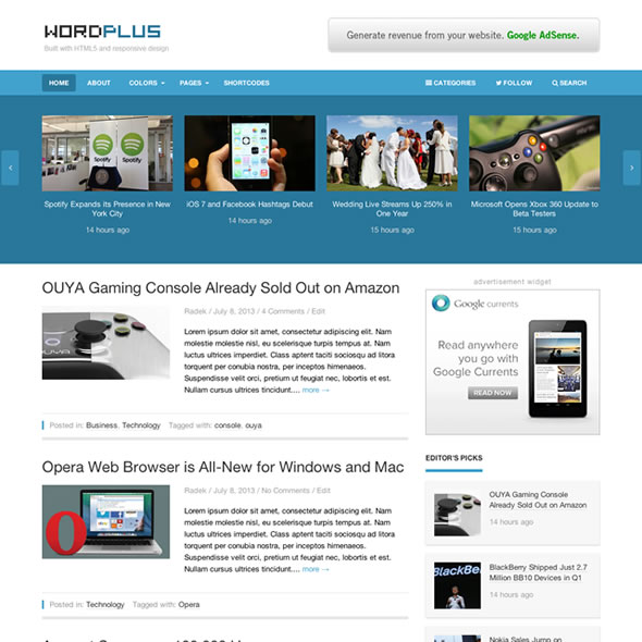 Wordplus for WordPress