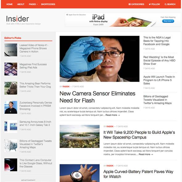 Insider for WordPress