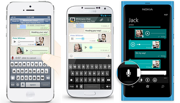 How to Send Voice Message on Whatsapp