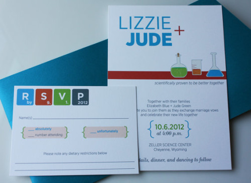 Jude Chemistry Invitation