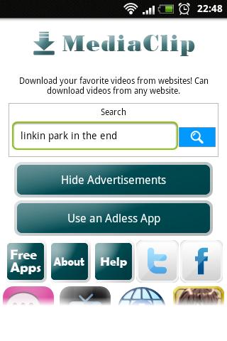 MediaClip Search Box