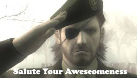Salute Your Awesomeness