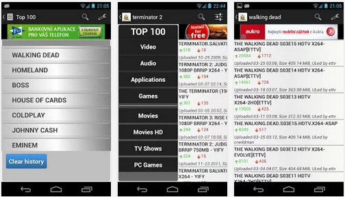torrent tracker for android