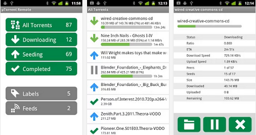 utorrent remote for android