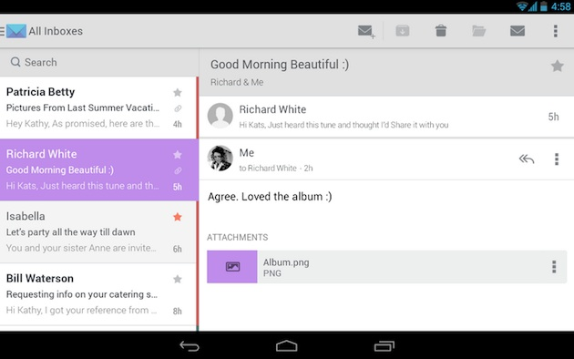 Email Apps for Android