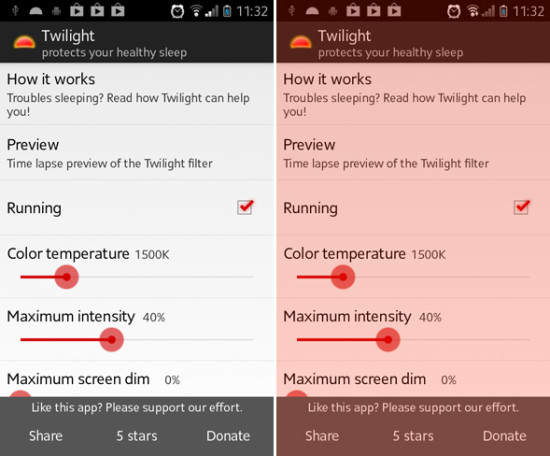twilight for android