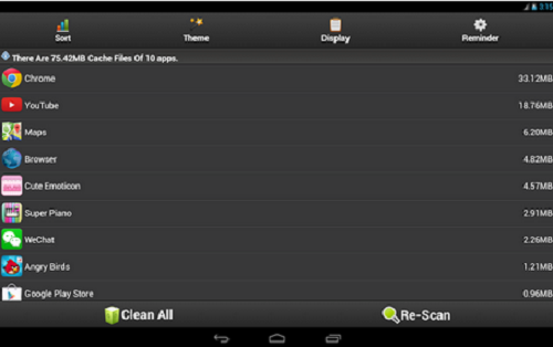 cache cleaner easy for android