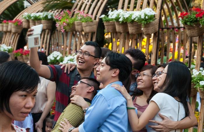 Selfie Vietnam Saigon