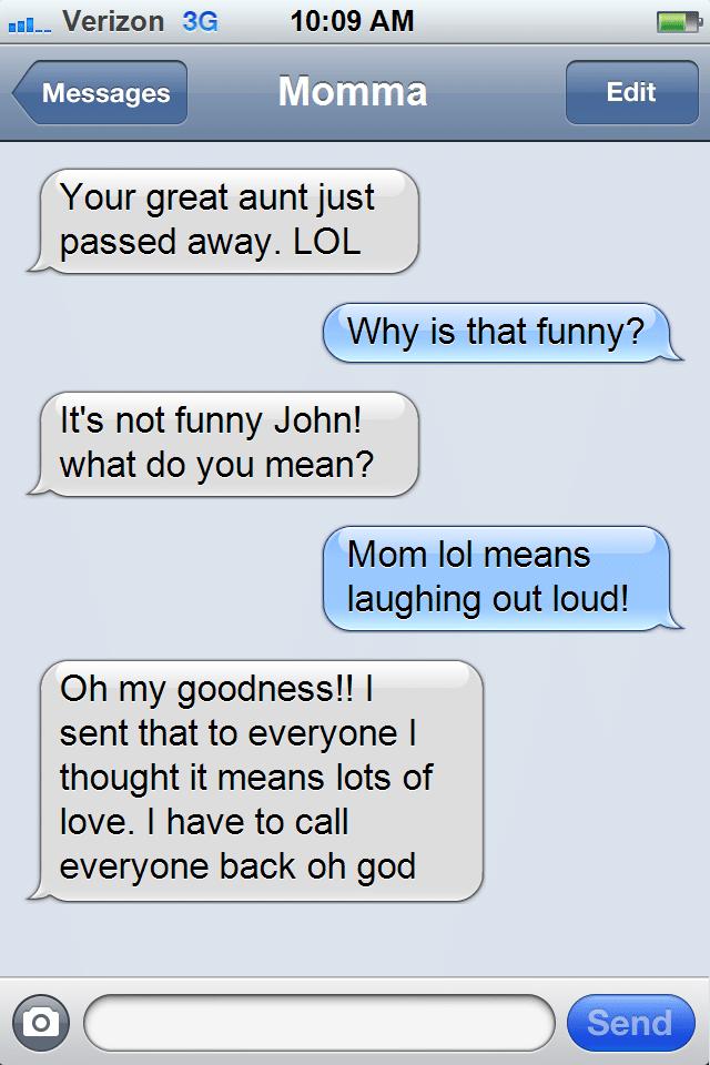 aunt passed away