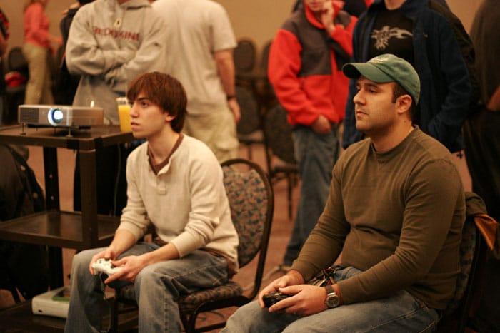 gaming improves vision
