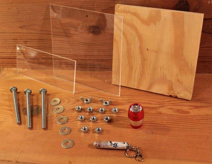 materials to make Microscope