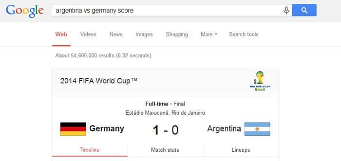 sport team score