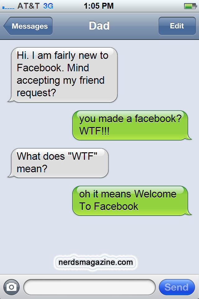 WTF - Welcome To Facebook