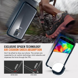 Galaxy S5 Spigen case