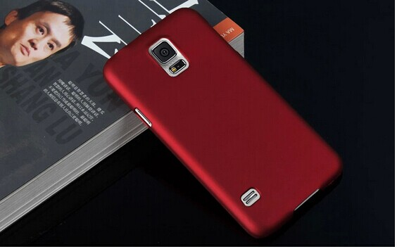 S5 red rubber case