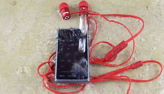 Wateproof Kit For Earbuds & mp3 players