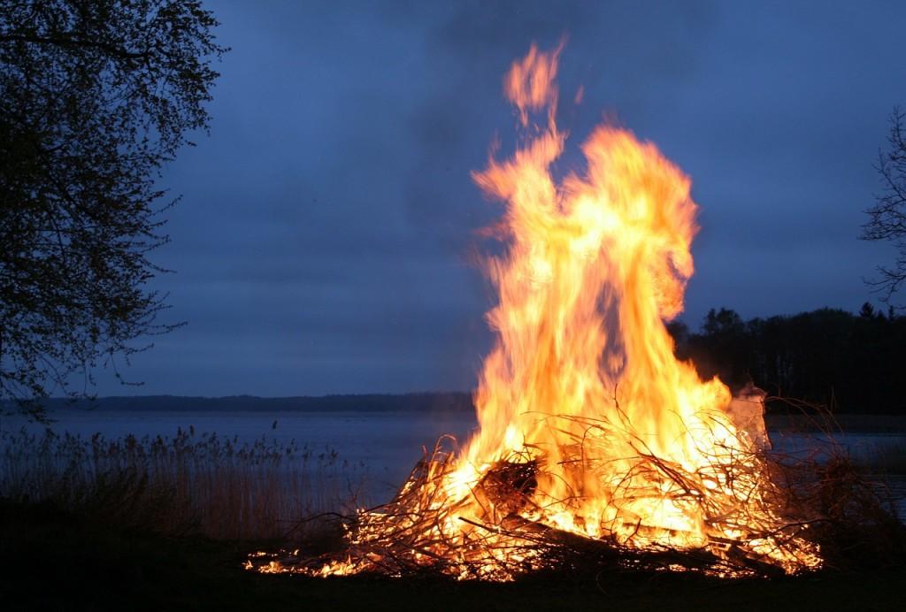 start fire