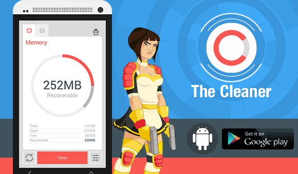 The Cleaner app