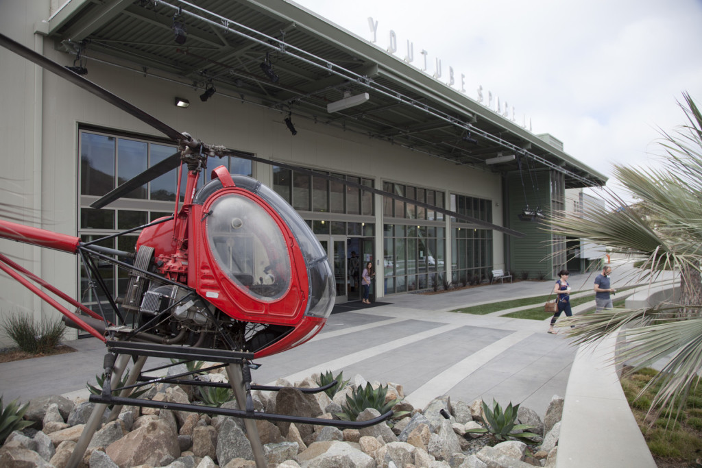 Youtube Studios with Heli