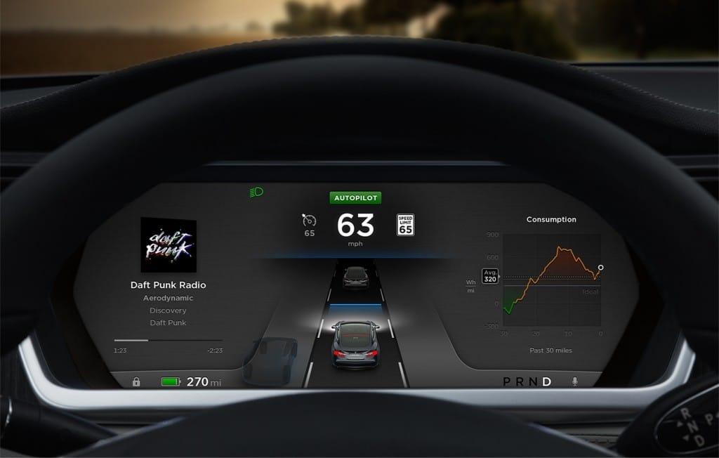 TESLA-Autopilot-Display