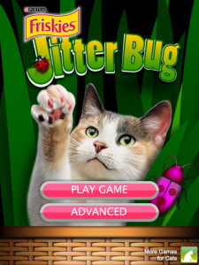 Jitter bug for iPad - Cat play
