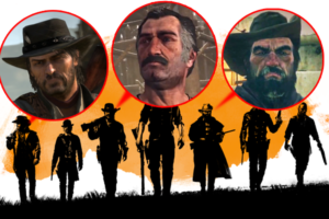 Red Dead Redemption 2 Nerds Characters